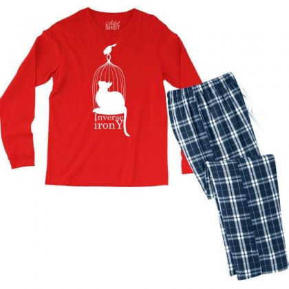 Inverse Irony Men's Long Sleeve Pajama Set Designed By Specstore