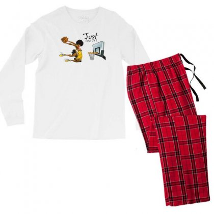 Just Dunk It Men's Long Sleeve Pajama Set Designed By Specstore