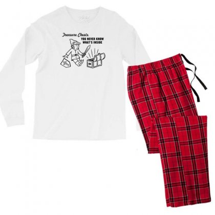 Linkpoly Men's Long Sleeve Pajama Set Designed By Specstore