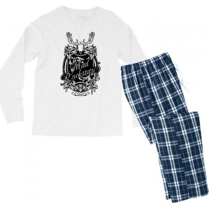 Mad Rockstar Myth Men's Long Sleeve Pajama Set Designed By Specstore