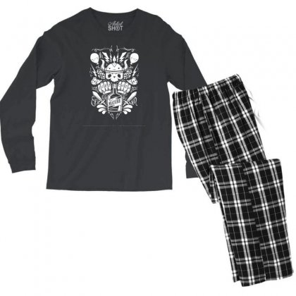 Real Mature Men's Long Sleeve Pajama Set Designed By Specstore