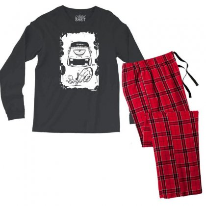 Stop Smoking Men's Long Sleeve Pajama Set Designed By Specstore