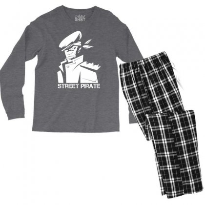 Street Pirate Men's Long Sleeve Pajama Set Designed By Specstore