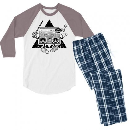 Mad Box Men's 3/4 Sleeve Pajama Set Designed By Specstore