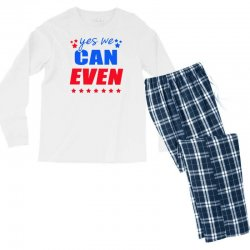 Yes We Can Even Men's Long Sleeve Pajama Set | Artistshot