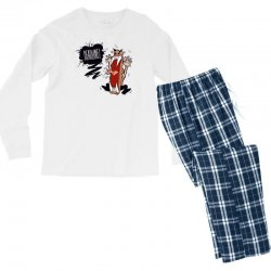 Angry Boss Screaming Deadline Men's Long Sleeve Pajama Set | Artistshot