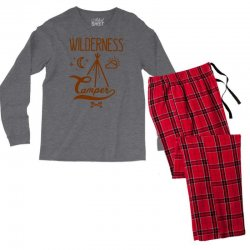 wilderness camper Men's Long Sleeve Pajama Set | Artistshot