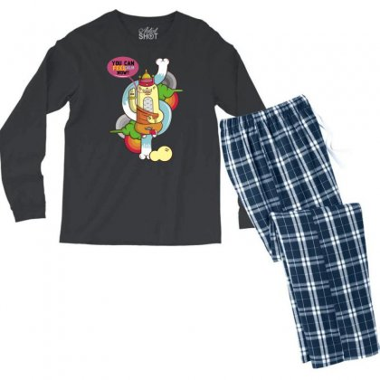 You Can Calm Now Men's Long Sleeve Pajama Set Designed By Specstore