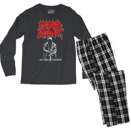 Altars Of Sauron Men's Long Sleeve Pajama Set Designed By Specstore