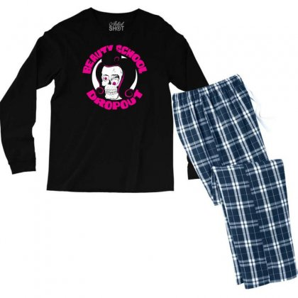 Beauty School Dropout Men's Long Sleeve Pajama Set Designed By Specstore
