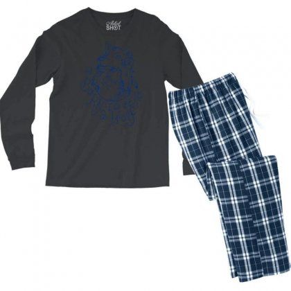 Born To Be A Wolf Men's Long Sleeve Pajama Set Designed By Specstore