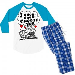 i choo choo choose you Men's 3/4 Sleeve Pajama Set | Artistshot