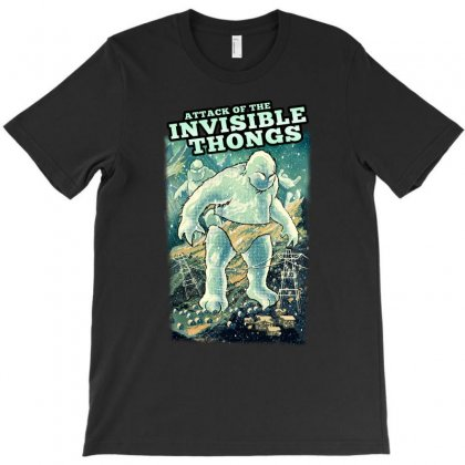 Invisible Thongs T-shirt Designed By Adam Jumali Lawless