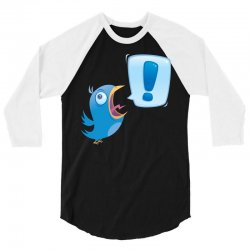 Shouting Bluebird 3/4 Sleeve Shirt | Artistshot