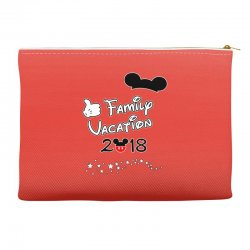 disney mickey family vacation 2018 Accessory Pouches | Artistshot