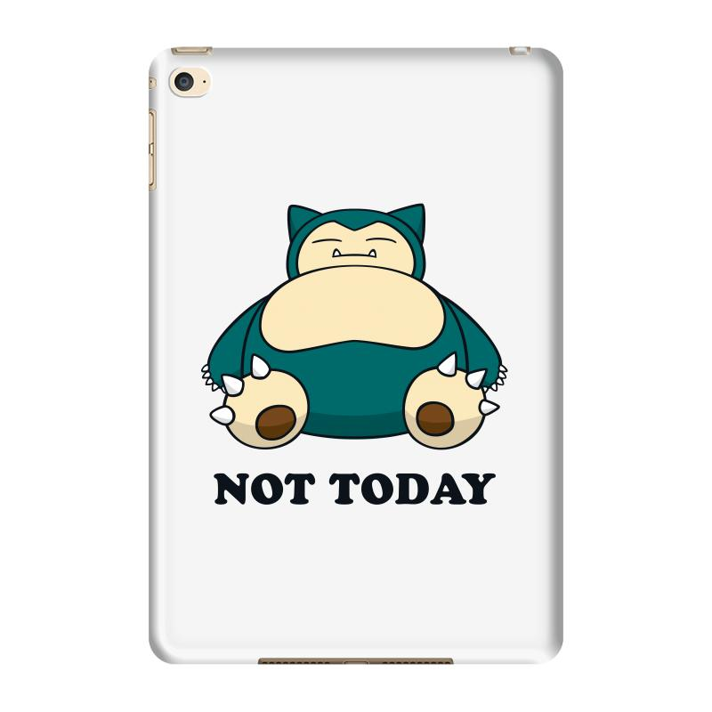 af9b633a Custom Snorlax Not Today For Light Ipad Mini 4 Case By Sengul ...