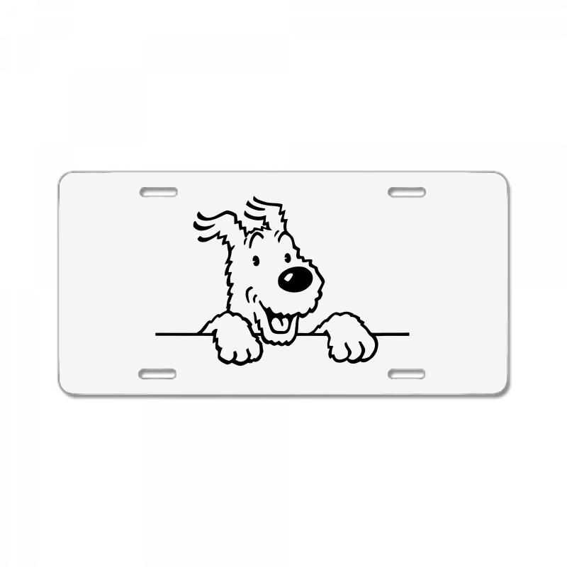 I Love My Mini Australian Shepherd License Plate Frame Tag Holder