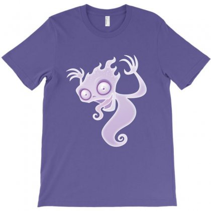 Ghostie T-shirt Designed By Fizzgig