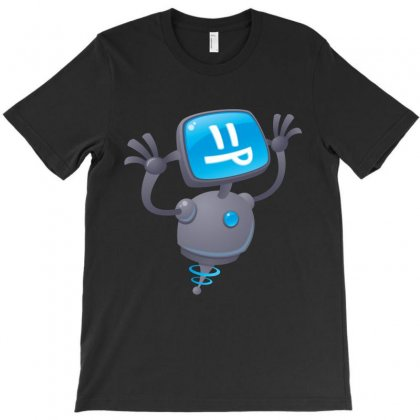 Razzbot T-shirt Designed By Fizzgig