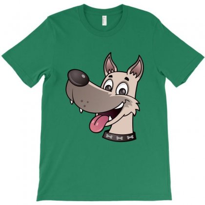Happy Dog T-shirt Designed By Fizzgig