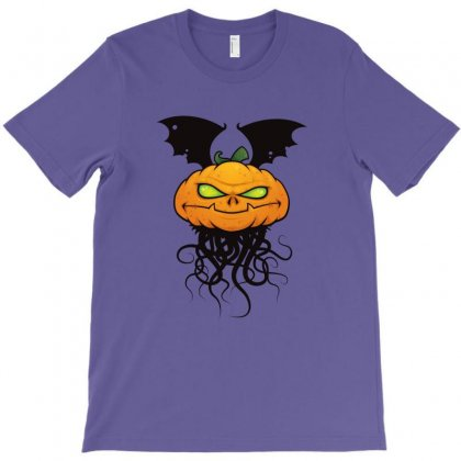 Pumpkin Monster T-shirt Designed By Fizzgig