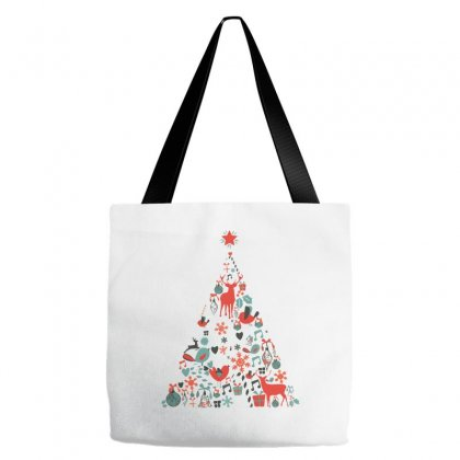 Christmas Tree Tote Bags Designed By Oz