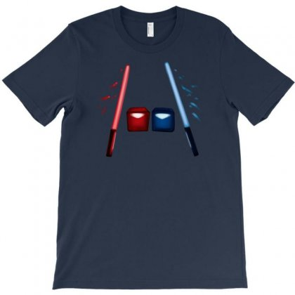 Artsy Beatsaber Shirt T-shirt Designed By Jessysketches
