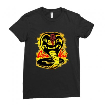 Cobra Kai Ladies Fitted T-shirt Designed By Uptosign