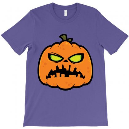 Pumpkin Zombie T-shirt Designed By Fizzgig