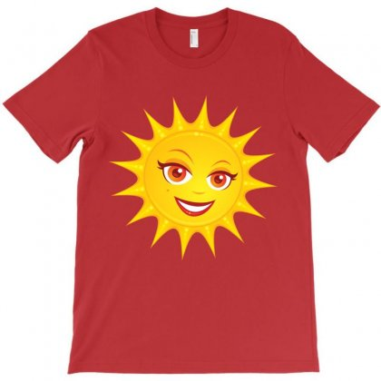 Hot Summer Sun T-shirt Designed By Fizzgig