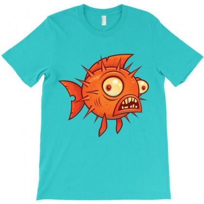Pufferfish T-shirt Designed By Fizzgig