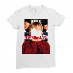home alone Ladies Fitted T-Shirt | Artistshot