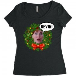 home alone mama kevin Women's Triblend Scoop T-shirt | Artistshot