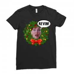 home alone mama kevin Ladies Fitted T-Shirt | Artistshot