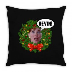 home alone mama kevin Throw Pillow | Artistshot