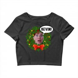 home alone mama kevin Crop Top | Artistshot