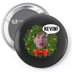 home alone mama kevin Pin-back button | Artistshot