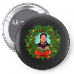 christmas vacation clark griswold Pin-back button | Artistshot
