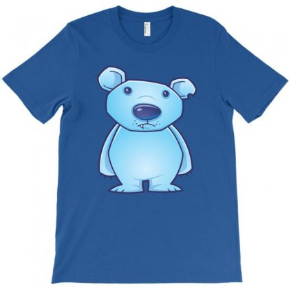 Polar Bear Cub T-shirt Designed By Fizzgig