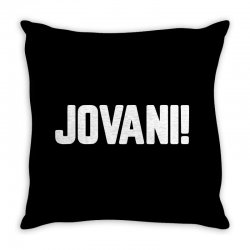 jovani for dark Throw Pillow | Artistshot