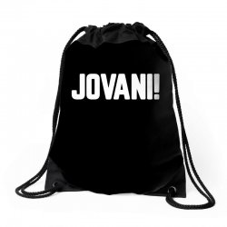 jovani for dark Drawstring Bags | Artistshot
