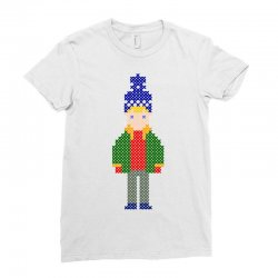 ugly home alone kevin Ladies Fitted T-Shirt | Artistshot