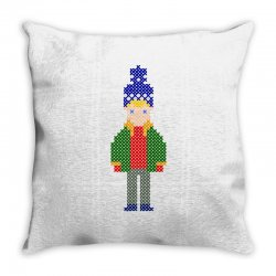 ugly home alone kevin Throw Pillow | Artistshot