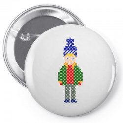 ugly home alone kevin Pin-back button | Artistshot