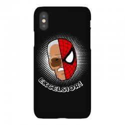 stan lee spiderman excelsior for dark iPhoneX | Artistshot