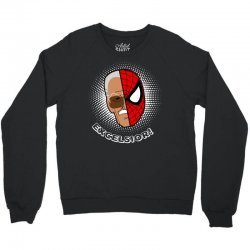 stan lee spiderman excelsior for dark Crewneck Sweatshirt | Artistshot