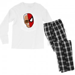 stan lee spiderman excelsior for dark Men's Long Sleeve Pajama Set | Artistshot