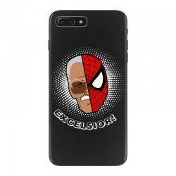 stan lee spiderman excelsior for dark iPhone 7 Plus Case | Artistshot