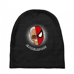 stan lee spiderman excelsior for dark Baby Beanies | Artistshot