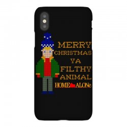merry christmas ya filthy animal home alone iPhoneX Case | Artistshot